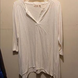 Faded Glory White Shirt